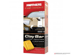 Mothers Wax California Gold Clay Bar Paint Saving System (kit)