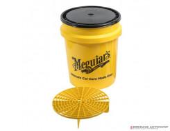 Meguiars Grit Guard + Lid + Bucket #X3003BL