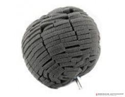 Monello - Uni-Ball Finishing - Zwart - 10cm
