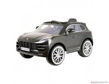 E-Car Porsche Macan Zwart met afstandsbediening